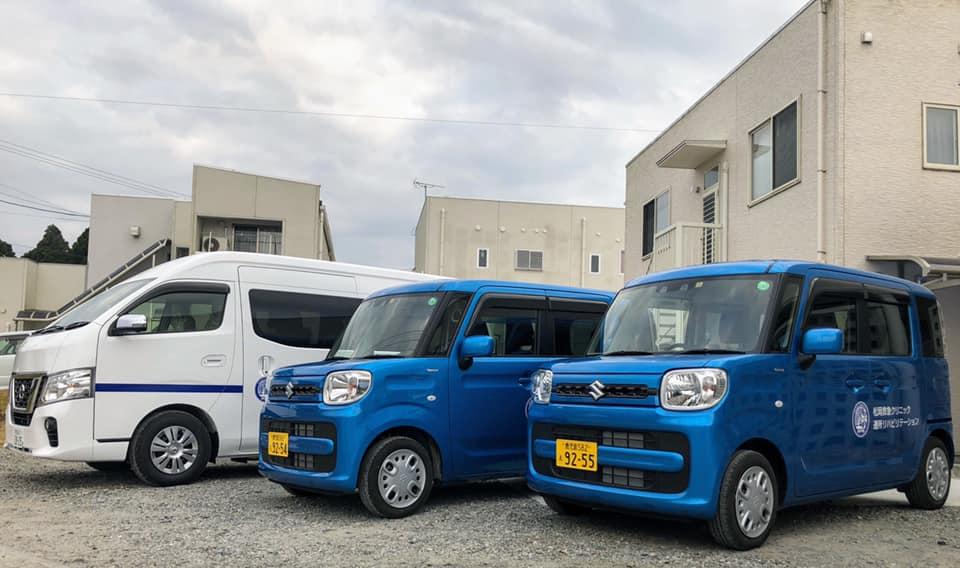 松岡救急クリニック通所リハビリの送迎車が新しくなりました。